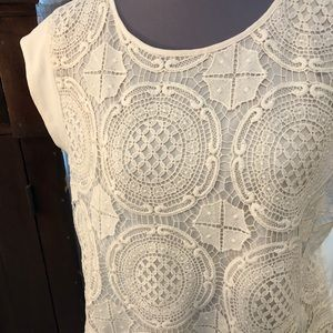 Fave Limited blouse xl easy and comfortable lace